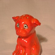 Red Dog Spice/Salt/Pepper Shaker