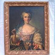 Antique French Portrait, Oil Painting, Export Question � Era � Circa Dating