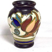 Mini Mystery Vase, Tulips, Marks AV and III, high quality