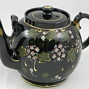 Victorian Double Spout Tea Pot