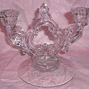 Cambridge Glass Candlesticks