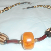 Unusual Beaded Necklace