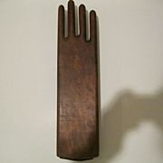 Antique Wood Hand Glove Stretcher
