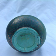 Green Blue Vase &quot;Marmor&quot;