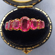 Ruby Band, Late Victorian