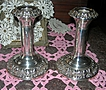 Silver Candlesticks, Pair, Edwardian