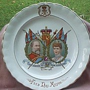 Edward VII and Alexandra Coronation Plate, 1902