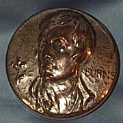 Robert Burns, Metal Snuff Box, Victorian