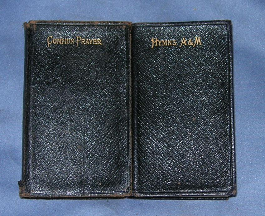 Book of common prayer and hymns ancient and modern two volumes late