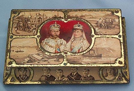 George V and Mary Coronation Tin, 1911