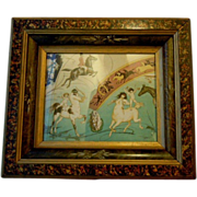 Antique frame ornate design & print