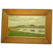 E. Wennerwald Denmark landscape  oil painting 1897