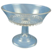 Lovely Molded glass compote or tazza american