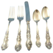 Moselle 5 piece place setting American silver co. silverplated