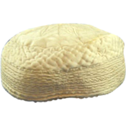 Turkish taqiyah or kufif cap silk