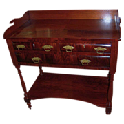 Mahogany Server, Federal Period, Empire, Sheraton