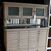 American Dental Cabinet Company, Three Doors over 28 Drawers