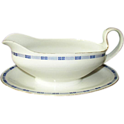 SALE J&C Trianon Bavaria Gravy Boat with Underplate