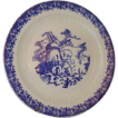 Royal China Ironstone Windmill Plate ~ Large, Blue & White