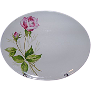 SALE Knowles Tea Rose Oval Platter, Pattern X22400