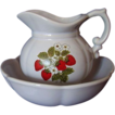 McCoy Bowl & Pitcher Set ~ Pretty Strawberries!