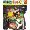 Plastic Farm Animals ~ 23 Piece Unopened Package ~ Hand Painted ~Made in Hong Kong