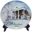 Vintage Christmas Smucker's Christmas Plate ~ 1988 David Coolidge Artwork