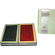SALE Congress Riviera Playing Cards ~ Double Deck