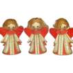 Vintage Christmas Angel Ornaments ~ Set of 3 ~ Made in Japan