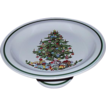 Vintage Christmas Cake Plate Stand with Pedestal Base ~ Japan