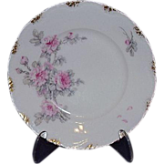 SALE Theodore Haviland Limoges Bread & Butter Plate, France ~ Pretty Camellias