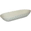 Indiana Milk Glass Pretzel Pattern Celery Dish
