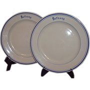 "SALE McNicol China Restaurant Ware Salad Plates ""Bethany"""