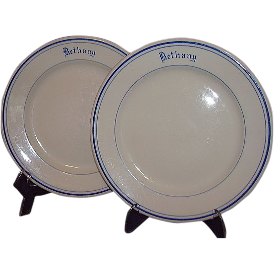 McNicol China Restaurant Ware Salad Plates &quot;Bethany&quot;