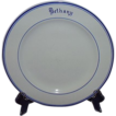 "Mayer China Restaurant Ware Dinner Plate ""Bethany"""