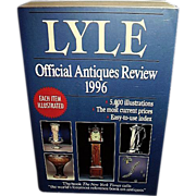 SALE Lyle Official Antiques Price Guide 1996, FREE Shipping in US
