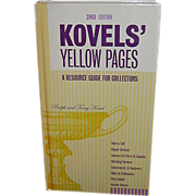 SALE 2003 Kovels' Yellow Pages, 2nd Edition - FREE Shipping in US