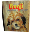 1978 Little Golden Book, Benji, Fastest Dog in the West ~ FREE Shipping in US