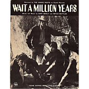 "SALE 1969 The Grass Roots ""Wait a Million Years"" Sheet Music"