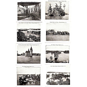 SALE Souvenir Photo Folder, 1920-30s Thousand Islands, NY,  Wm, Jubb B&W Photos