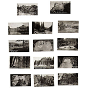 SALE Souvenir Photo Folder, 1930s Black Hills, SD  20 B&W Miniatures