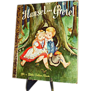 SALE 1975 Little Golden Book, Hansel and Gretel ~ FREE Shipping in US