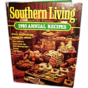 SALE Southern Living Cookbook 1985 Annual Recipes - FREE Shipping in US