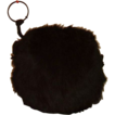 Ladies Fur Hand Muff  Black Bear Fur Circa 1900