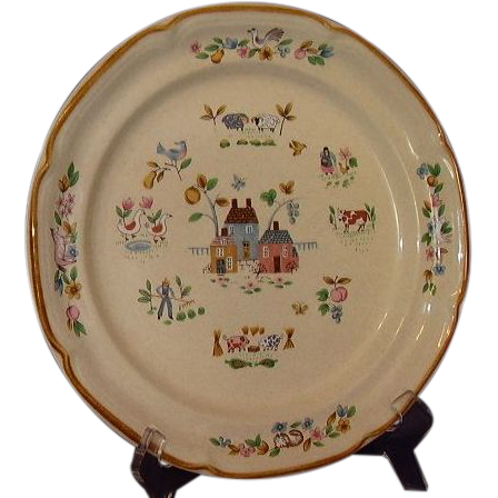International China Heartland Dinner Plate