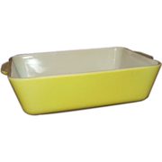 SALE Pyrex Yellow Refrigerator Dish #0503 1-1/2 Quarts