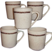 Sterling China Restaurant Ware Five Western Coffee Mugs