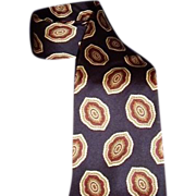 SALE Christian Dior Monsieur Italian Navy Blue Silk Neck Tie
