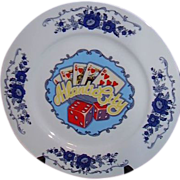 Atlantic City Souvenir Plate ~ Made in Japan