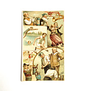 Arbuckle Bros. Coffee Card New York City 1893 ~GERMANY